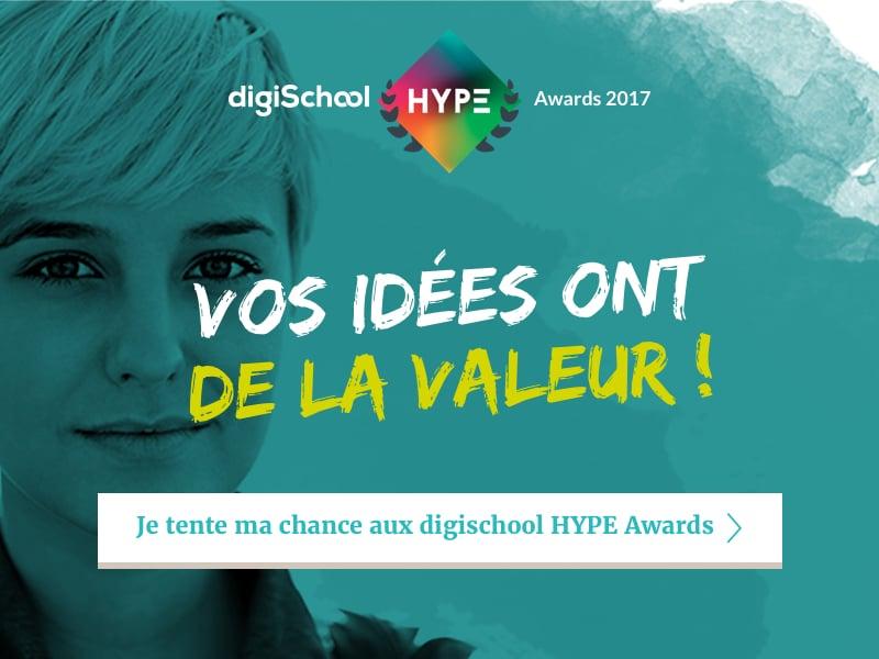 Business O Féminin partenaire des digischool Hype Awards