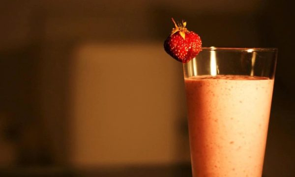 smoothie-fraise