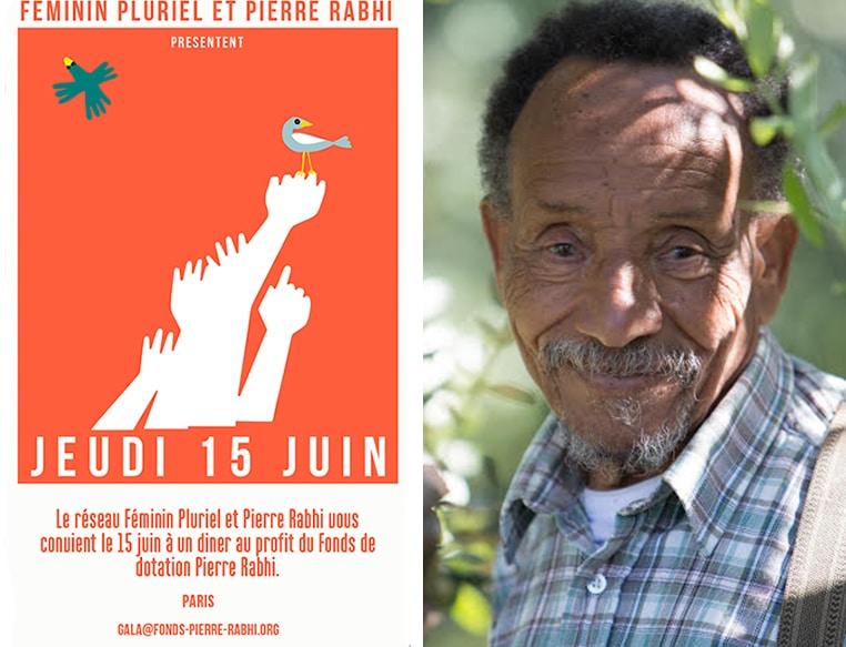 Diner exclusif avec Pierre Rabhi le 15 juin 2017