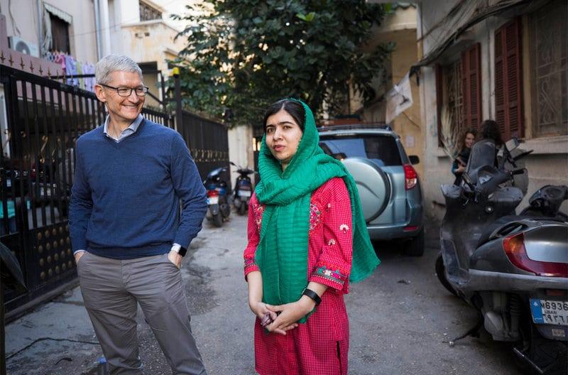 Apple et Malala : Un partenariat pour l'éducation de 100 000 jeunes filles