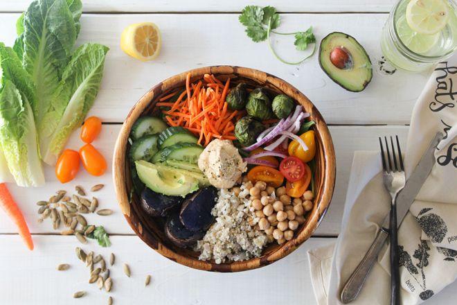 """Décryptage du """"Nourish Bowl"""" : la Roll's des assiettes équilibrées."""