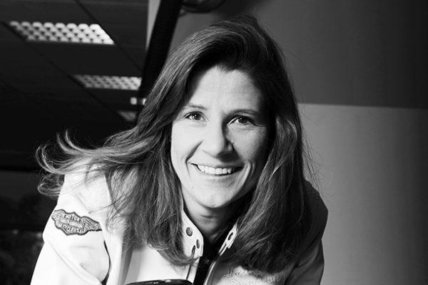 Isabelle Zammit : la femme à la moto