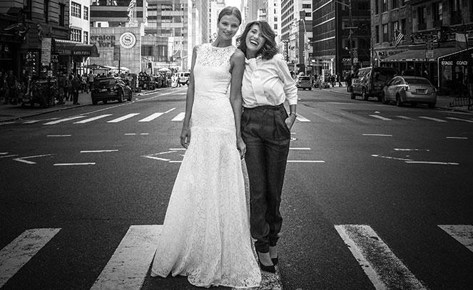 Le temps d'une robe de mariée en compagnie de Célestina Agostino