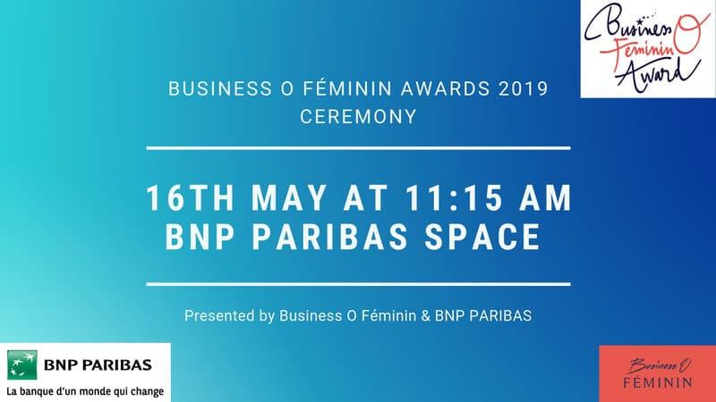 Business O Féminin awards Ceremony at Vivatech