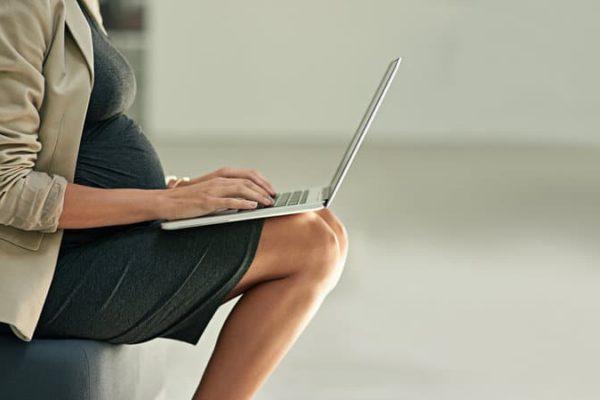 entrepreneure et enceinte