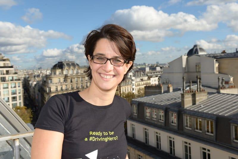 """Valérie Mas de WeNow: """"Moins de carburant, moins de CO2"""""""
