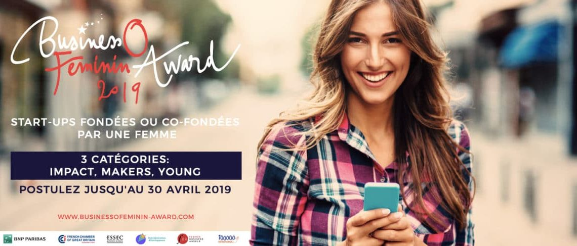 Business O Féminin awards 2019: Postulez !