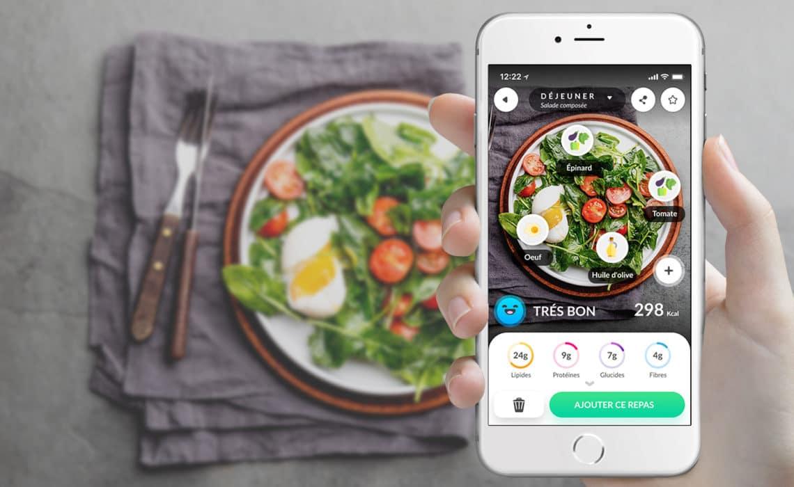 Foodvisor, le coach nutrition qui scanne votre assiette