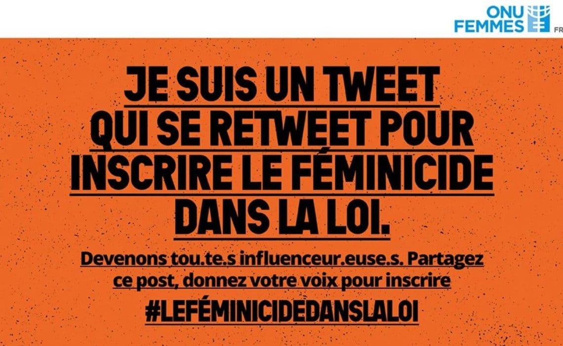 Orange Day : mobilisons-nous pour faire inscrire le féminicide dans la loi française