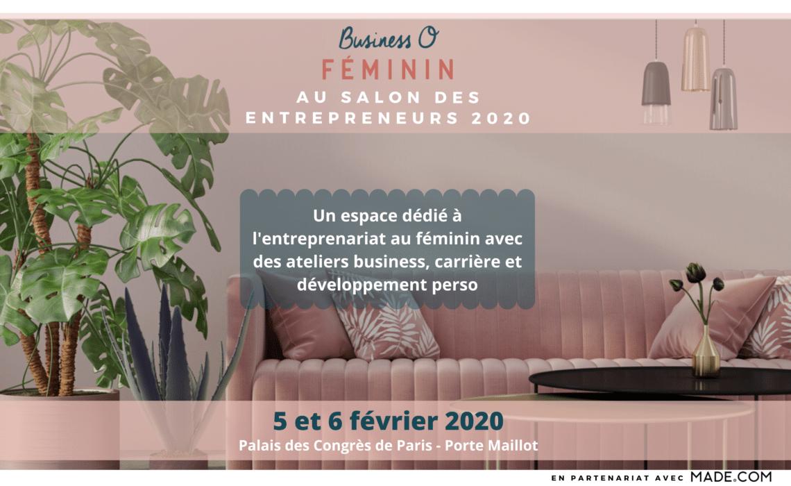 Business O Féminin au Salon des entrepreneurs 2020 !