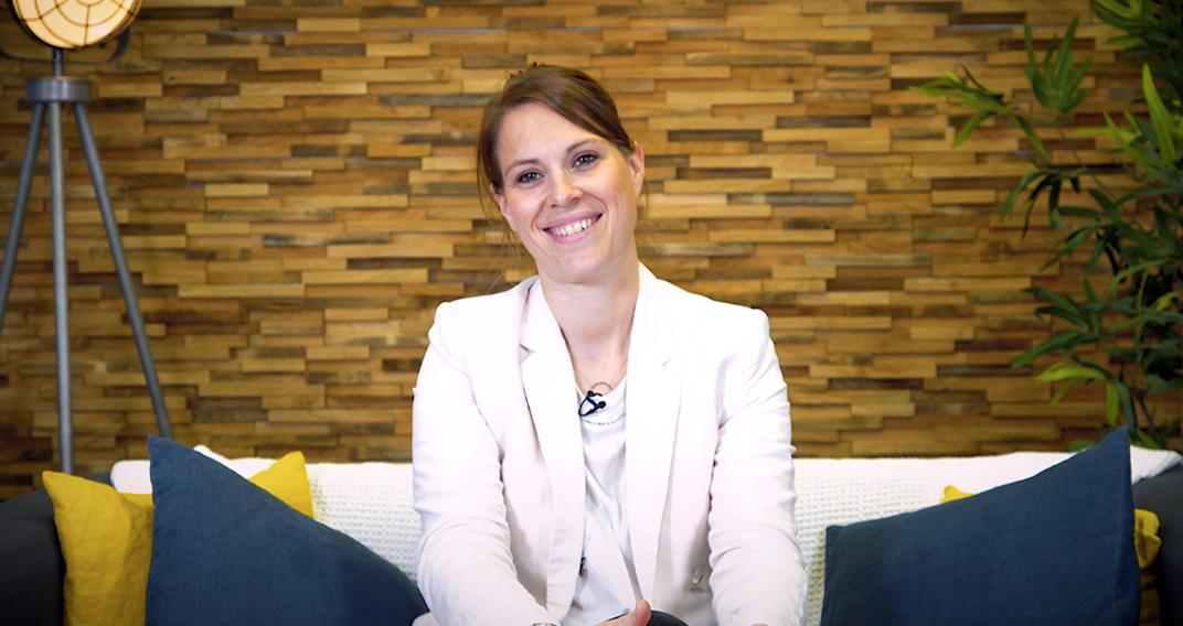 Delphine Cochet, CEO et co-fondatrice de Mabonnefée, plateforme dédiée à la natalité et parentalité