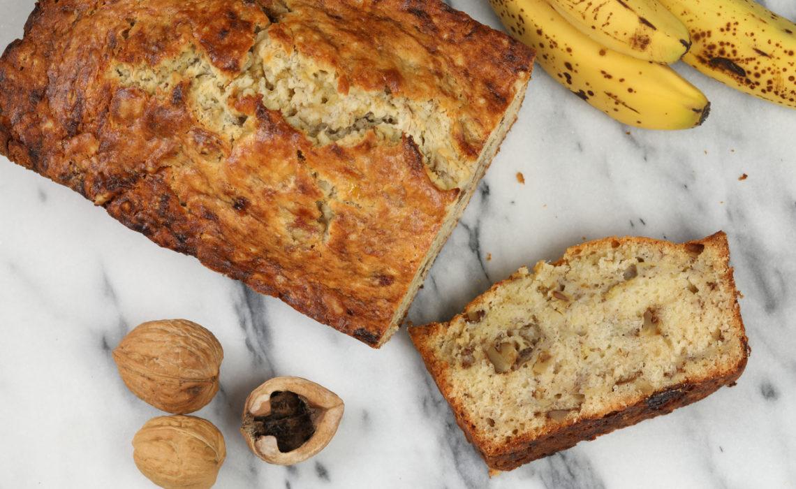 Le Banana Bread facile & rapide !