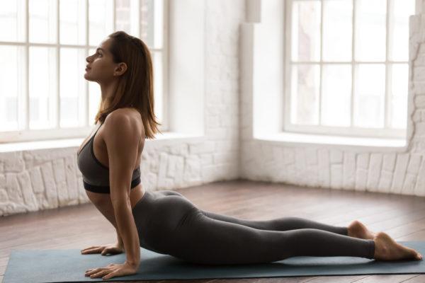 potures, yin yoga