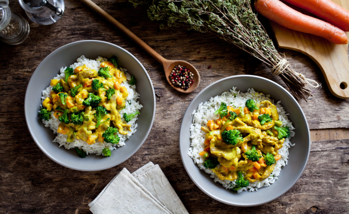 Curry de légumes express !