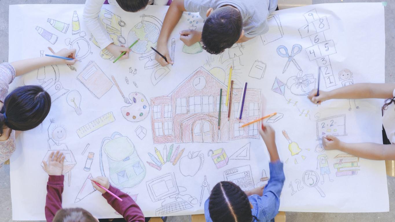 enfant, confinement, design thinking