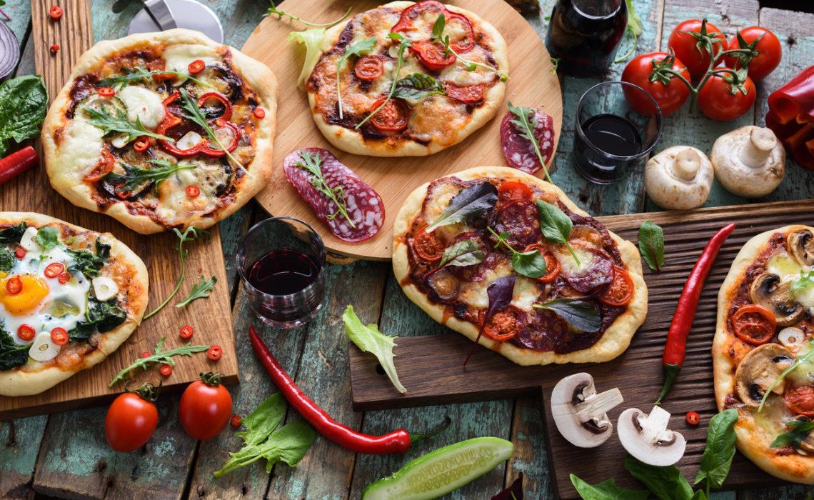 Salade Pizza express ( sans cuisson)