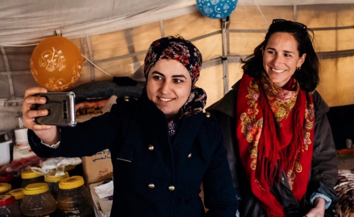 Histoire de Leila Mustapha, co-maire de Raqqa en Syrie