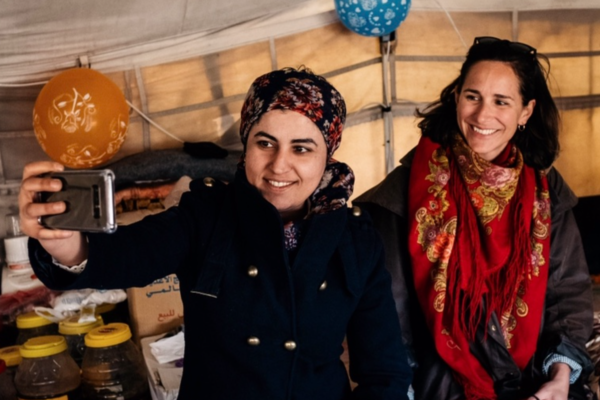Raqqa, Syrie, livre, kurde, femme, Leïla, Marine de Tilly