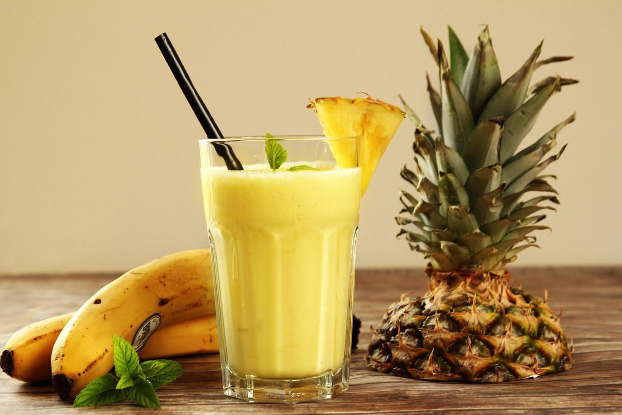 Le Smoothie Banane Ananas
