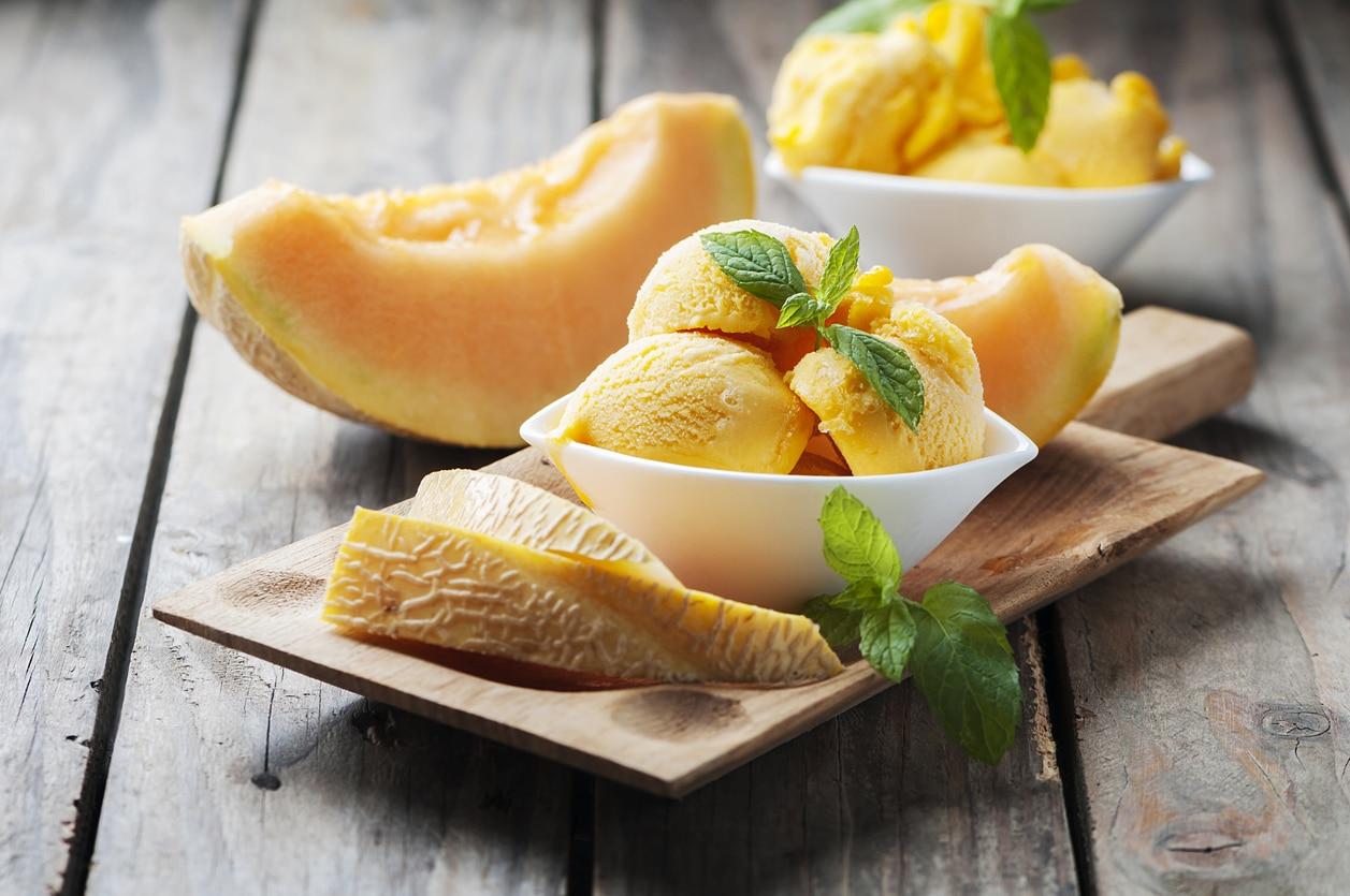 recette glace melon