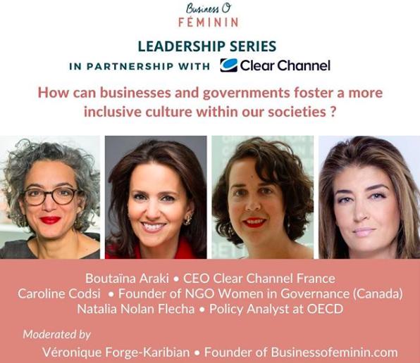 Leadership series : comment les entreprises et les gouvernements peuvent-ils favoriser le développement d'une culture plus inclusive au sein de nos sociétés ?