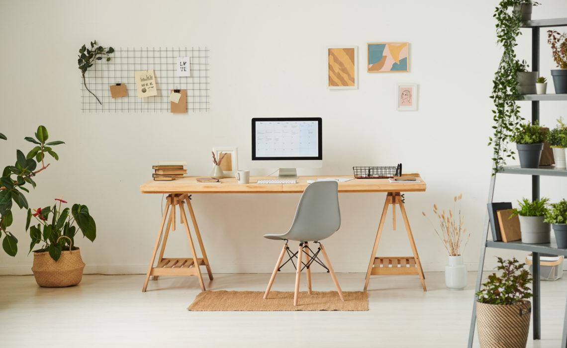Comment créer un espace de travail agréable chez soi ?