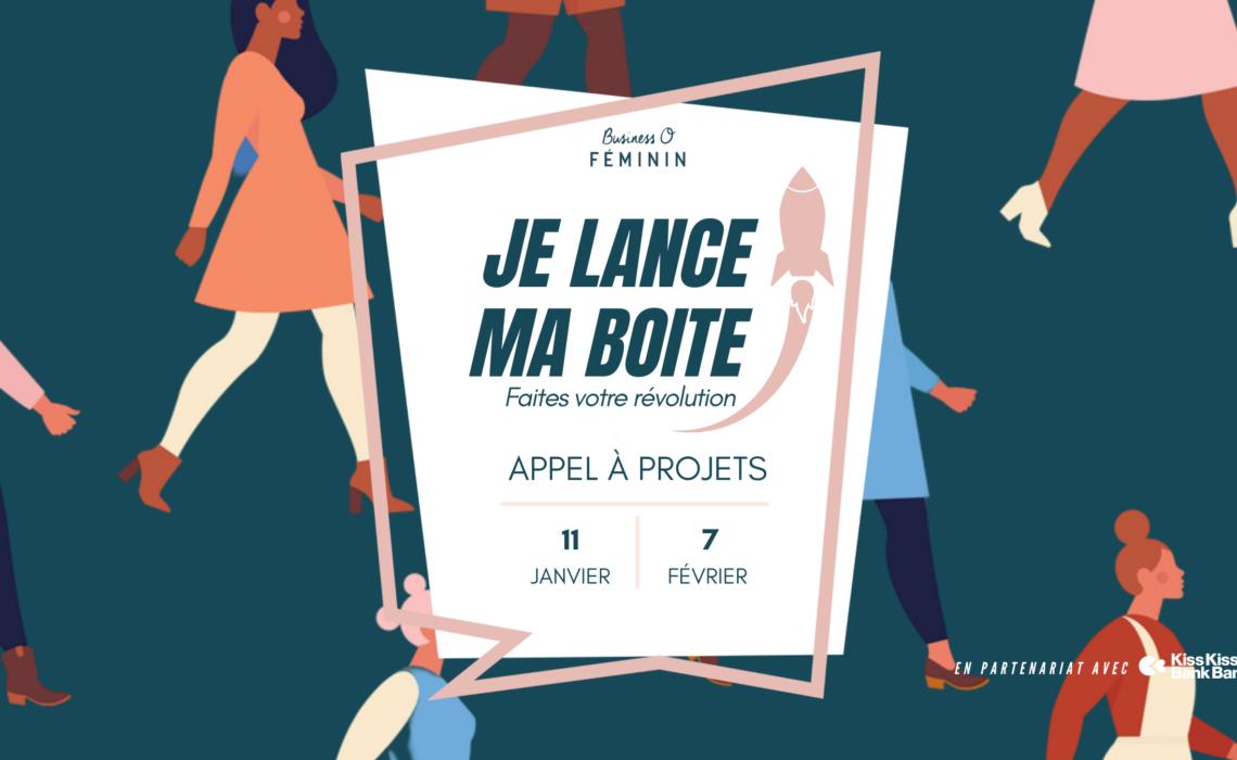 """Business O Féminin lance sa première édition de """"Je lance ma boite"""" !"""