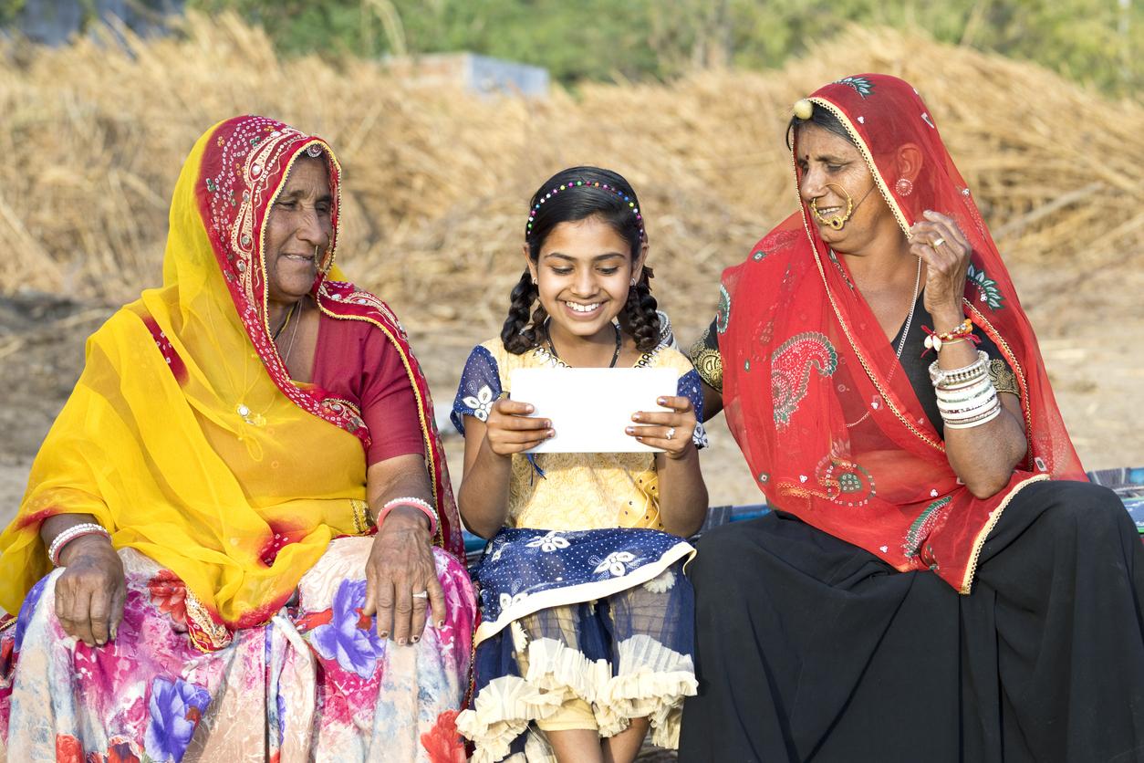 Les femmes indiennes tissent la toile numérique de leur indépendance