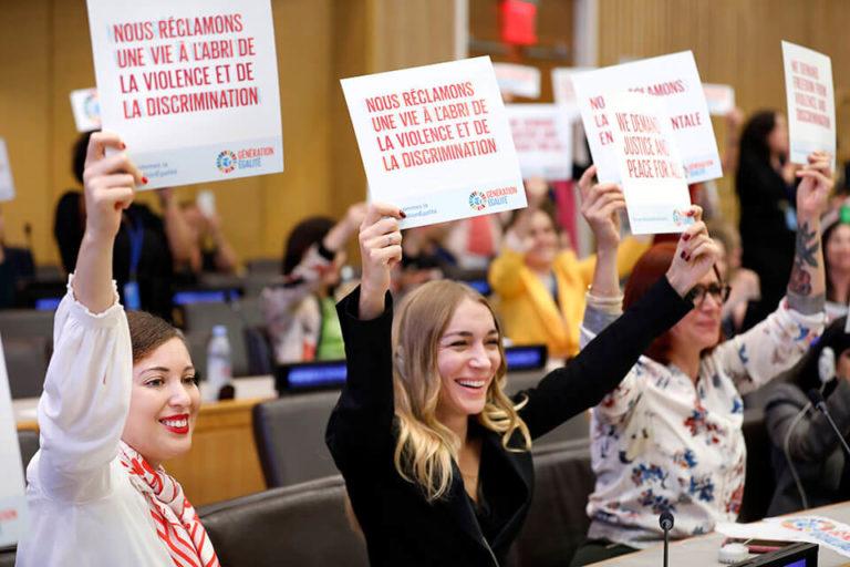 Droit des femmes, l'ONU tire la sonnette d'alarme