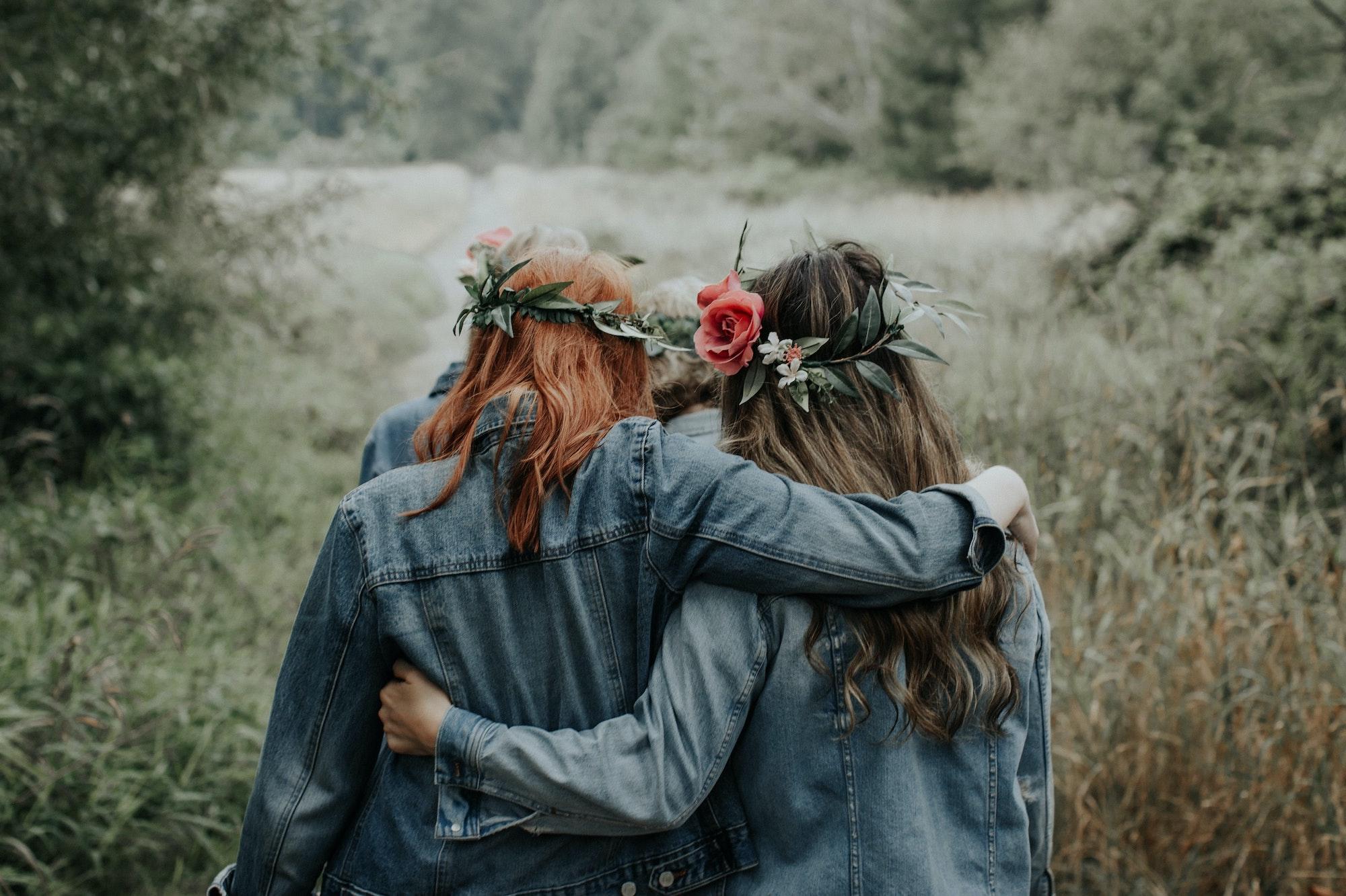 cercles de femmes en pleine nature