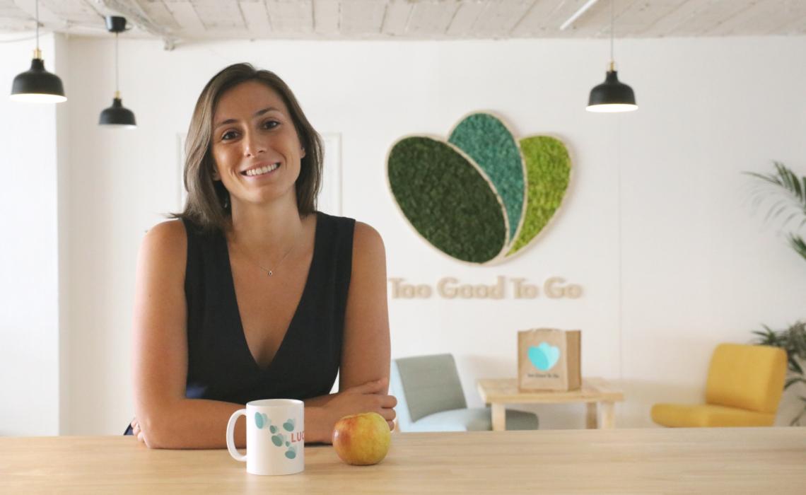 Lucie Basch, fondatrice de Too good to go, l'appli anti gaspi !